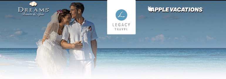 Legacy Travel: Complimentary Ever After Vow Renewal Package